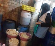 توقیف ۲۳۰۰ کیلو پنیر غیر بهداشتی در گیلان