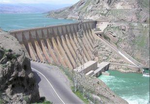 حجم ذخیره آب سد سفیدرود ۶۳ درصد افزایش یافت