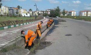 گزارش تصویری هفته بیست و پنجم طرح پاکسازی هفتگی محلات شهر رشت