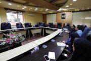 جلسه کارگروه اطلاع رسانی طرح احیای رودخانه های زرجوب و گوهر رودبا حضور رییس شورای شهر و شهردار رشت