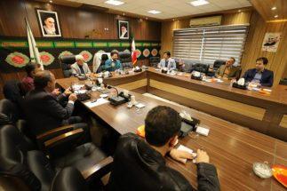 جلسه کمیسیون بهداشت ، محیط زیست و خدمات شهری