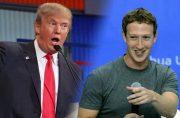 کرنش زاکربرگ برابر ترامپ کارمندان فیسبوک را شوراند