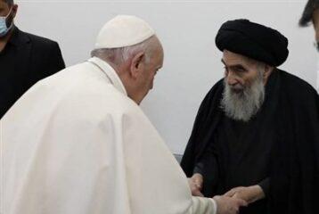 جزئیات اعلام نشده از دیدار پاپ و آیتالله سیستانی در نجف اشرف