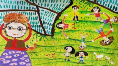 درخشش کودک گیلانی در مسابقه بینالمللی نقاشی کودکان