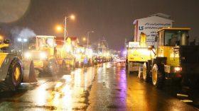 گزارش تصویری از آمادگی تیم عملیاتی منطقه دو شهرداری