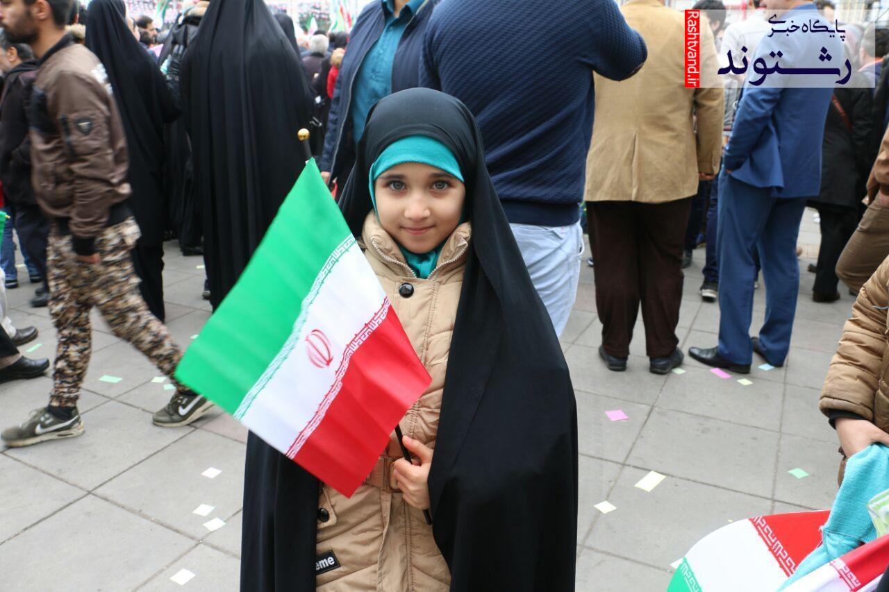 گزارش تصویری برگزاری مراسم ۲۲ بهمن رشت